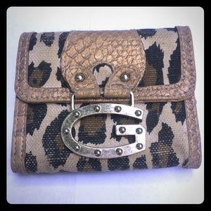 Guess cheetah wallet
